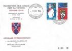 1966 Christmas, Rheindahlen Garrison Stamp Club FDC, British Stamp Exhibition British Force 1000 Postal Services H/S