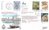 1984 Greenwich Meridian, RFDC No.28 Official FDC, 65th Anniversary of the Royal Naval Staff College BF 1838 PS H/S, Signed