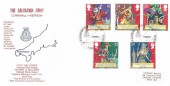 1992 Gilbert & Sullivan, Official Historic Relics FDC, The Salvation Army Penzance Cornwall H/S
