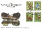 1981 Butterflies, National Butterfly Museum Stamp Publicity (SP) Official FDC, National Butterfly Museum Bramber Steyning W.Sussex H/S