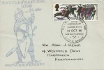 1966 Battle of Hastings, Illustrated FDC, 1/3d Phosphor stamp only, Battle of Hastings 900th Anniversary Battlefield Battle H/S