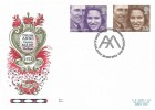 1973 Royal Wedding, Benham Engraved FDC, First Day of Issue Westminster Abbey London SW1 H/S