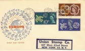1961 CEPT European Conference Torquay Slogan FDC
