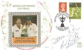 1994 Benham CR15 Benson & Hedges  Warwickshire v Worcester Cricket Cup Final Cover, Benson & Hedges Final Lord's Ground London NW8 H/S, Signed by Dermot Reeve & Paul Smith