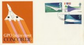 1969 Concorde Hounslow Middx. FDI (Heathrow Airport) FDC