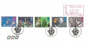 1996 Children's TV, BBC Envelope FDC, Blue Peter Shepherds Bush London W12 H/S +1st Royal Mail Paid Meter Mark