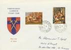 1967 Christmas Rheindahlen Garrison Stamp Club FDC.