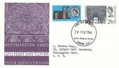 1966 Westminster Abbey GPO FDC,  Philatelic Bureau London EC1 H/S