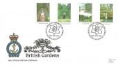 1983 British Gardens, RNLI FDC No.30, Capability Brown 1715 - 1783 Kew Gardens Richmond Surrey H/S