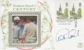 1993 Graham Gooch's Century, Benham Cricket cover, Graham Gooch's Century of Centuries Chelmsford Essex H/S, Signed by Graham Gooch