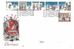 1973 Christmas, Benham Engraved FDC, First Day of Issue Bethlehem Llandeilo Carms.H/S