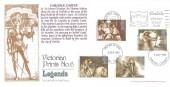 1985 Arthurian Legend, Bradbury Carlisle Castle Victorian Print No.6 FDC, Carlisle Worth a closer Look Slogan