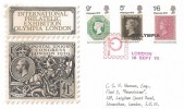 1970 Philympia, Thames FDC, Philympia Day London H/S