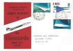 1969 Concorde, 7th Signal Regiment Stamp Club FDC, Field Post Office 975 cds