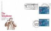 1976 Telephone, Set of 4 Post Office FDC's Vertical Gutter Pairs, The Samaritans Distress Despair Phone Bognor 25555 in Confidence Bognor Regis West Sussex Slogan