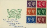 1940 Postage Stamp Centenary, Post Horn Illustrated FDC, Halfway Street Sidcup Kent cds