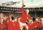1966 England World Cup Winners Team Photograph, Signed by Geoff Hurst