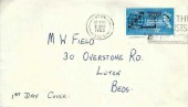 1963 Commonwealth Cable, Luton Industrial Safety Association Envelope FDC, Are you on the New Voters List? Check Now Luton Slogan