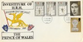 1969 Prince of Wales Investiture, C.Harris of Loughborough Illustrated FDC, Loughborough Leics. FDI