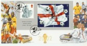 2002 World Cup Football Bradbury Official FDC