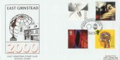 1999 Inventors' Tale East Grinstead Stamp Club Official FDC, East Grinstead Stamp Club  Meridian and the Millennium H/S