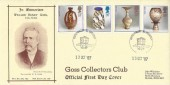 1987 Pottery, Goss Collectors Club FDC, Bath Philatelic Counter H/S