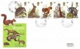 1977 British Wildlife, Philart FDC, Otter Ferry Tighnabruaich cds