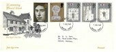 1969 Prince of Wales Investiture, Interesting Rural Oxted the Royal Oak Inn FDC, Croydon FDI