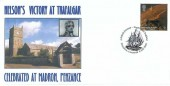 2005 South West England, Doncaster & District Philatelic & Postcard Society Nelson FDC, 1st Class Wheal Coates St.Agnes stamp only, A British Journey South West England Penzance Cornwall H/S
