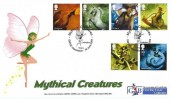 2009 Mythical Creatures, GBFDC Official FDC, Mythical Creatures GBFDC Association Cottingley Bingley H/S