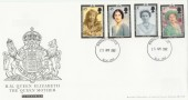 2002 Queen Mother Memorial, Royal Mail FDC, Windsor Castle cds