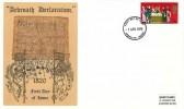 1970 General Anniversaries, Thames Arbroath Declaration FDC, 5d Declaration of Arbroath stamp only, Arbroath Angus FDI