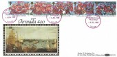1988 The Spanish Armada 1588, Benham BLCS 34 FDC, Posted at Sea Received Paquebot Dover Red Cancel