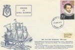 1973 British Explorers, HMS Raleigh FDC, Plymouth FDI