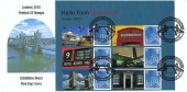 2010 Festival of Stamps London 2010 Exhibition Generic Sheet, Set of 4 Tower Bridge Illustrated FDC, International Festival of Stamps London H/S