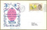 1964 Philart  Royal Family Happy Event commemorative card. Iver Bucks. Cancel