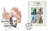 1979 Sir Rowland Hill Miniature Sheet, Haringey Bruce Castle School Official FDC, Bruce Castle Museum Tottenham  N17 H/S