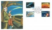 1986 Halley's Comet, Fine Arts No.11 Official FDC,Edmund Halley born 1656 Haggerston London E2 H/S