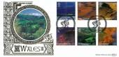 2004 Wales, Benham (500) Gols No.284 Official FDC, Wales A British Journey Llangollen Clwyd H/S