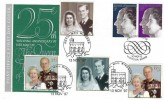 1972 Silver Wedding, Post Office FDC, First Day of Issue Windsor Berks. H/S, Double dated 1997 Queen's Golden Wedding, Royal Mail Windsor Castle H/S