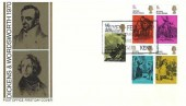 1970 Literary Anniversaries, Post Office FDC, Dickens Fellowship Broadstairs Branch Broadstairs Kent H/S
