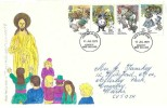 1979 Year of the Child, Hand painted FDC, Coventry West Midlands FDI