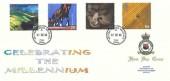1999 Farmers' Tale, RAF Bruggen FDC, British Force Bruggen Post Office cds