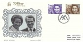 1973 Royal Wedding, Abbey FDC, First Day of Issue Westminster Abbey London SW1 H/S