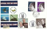 1972 Silver Wedding, British Forces Postal Service FDC, Forces Post Office 965 cds, Double Dated 20th November 1997 Queen's Golden Wedding, 20p & 26p stamps, Westminster Abbey London H/S