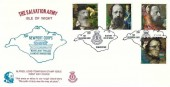 1992 Tennyson, Salvation Army Official FDC, The Salvation Army Newport Isle of Wight H/S
