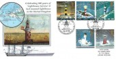 1998 Lighthouses Steven Scott Official Cover No.19,  Guiding Light 300 Years of Lighthouse Service, Alum-Bay, Freshwater, Isle of Wight H/S