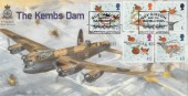 2001 Christmas Kembs Dam Guy Gibson Dambusters Cambridge Official FDC