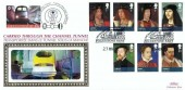 2010 The Stewarts, Benham Channel Tunnel Official FDC, The Historic Channel Tunnel Folkestone Kent H/S +55p Railway Letter Stamp