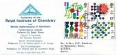 1977 Chemistry, North Herts Stamp Club FDC, Stevenage Herts. FDI